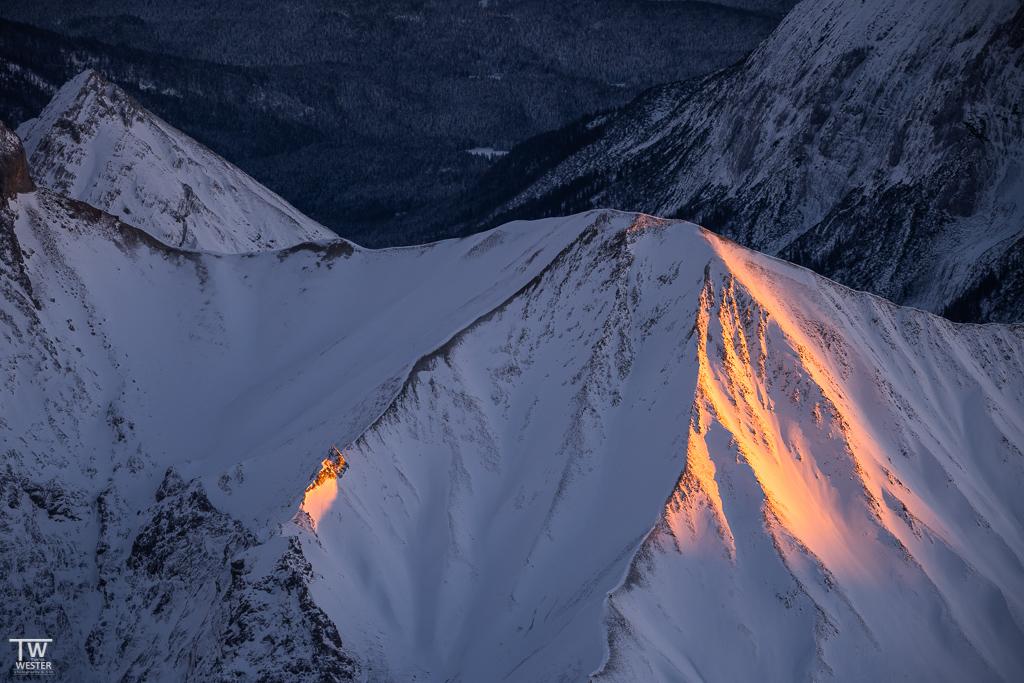 …wie auch bei einzelnen Gipfeln (B1535)