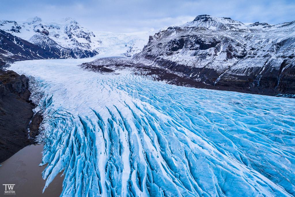 Gletscher in Island fotografieren