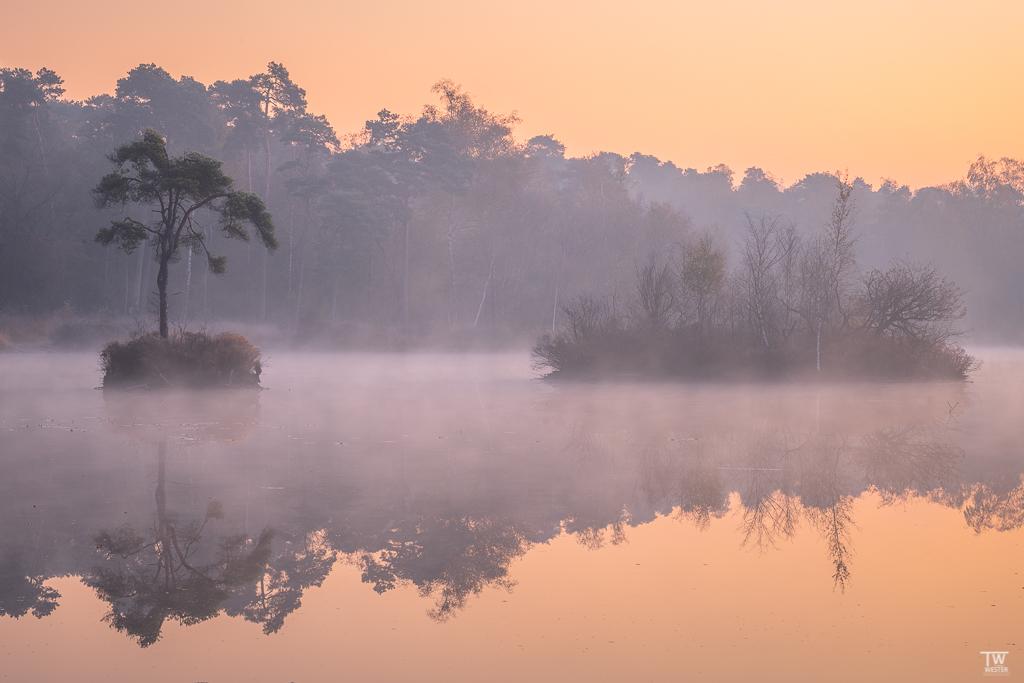 Die holländischen Seenlandschaften (streng genommen sind es Moorgebiete) bieten einige schöne Motive…auch schon früh am Morgen 😉 (B1864)