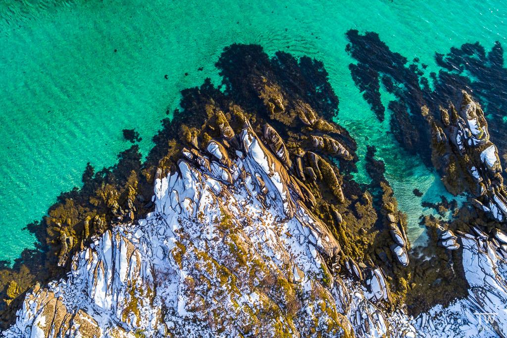 Luftaufnahme eines Küstenabschnittes (B1304)