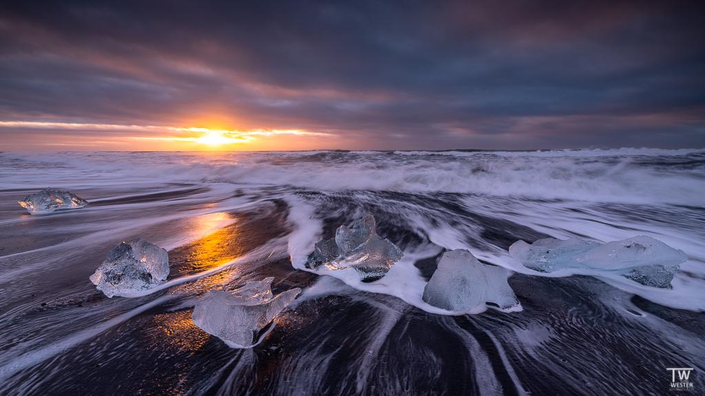 Jökulsarlon in Island