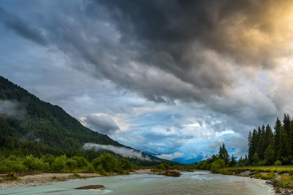 Bayern, oder doch Kanada? Sicherlich einer der imposantesten Himmel, die ich als Naturfotograf je erlebt habe (B1032)