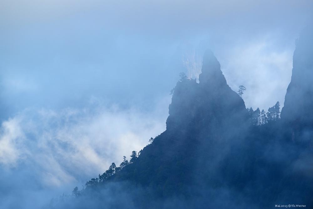 La Palma, über der Caldera (B32)