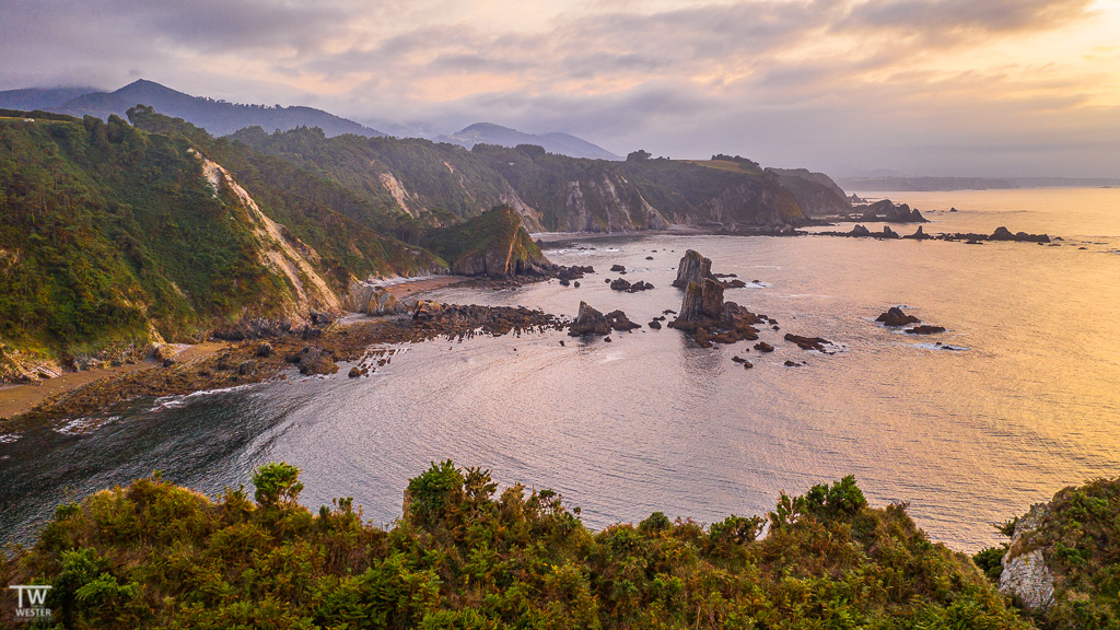 Asturische Küstenlandschaft (B1786)