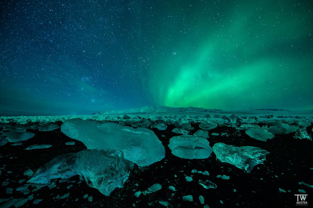 Nordlichter in Island fotografieren