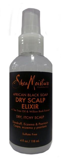 Shea Moisture African Black Soap Dry Scalp Elixir 118ml