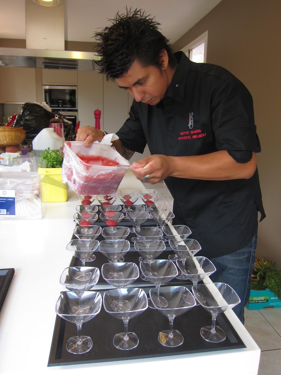 Raymond Chef du Restaurant Bistro Gastro