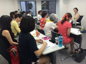 昨年の有資格者の勉強会の様子