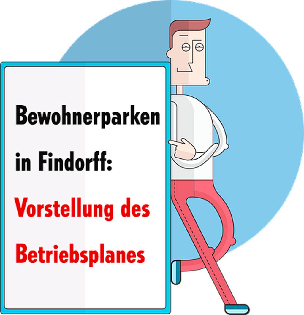 Bewohnerparken in Findorff: Vorstellung des Betriebsplans