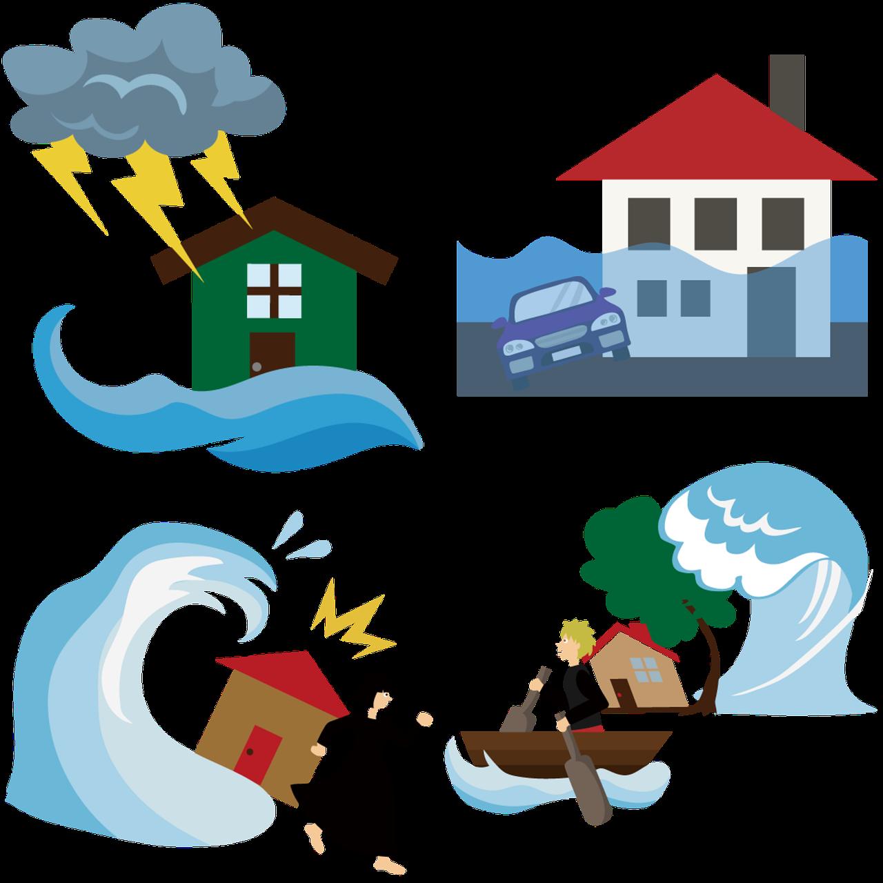 Auch in Findorff: Gefahren durch Starkregen nehmen zu. Jetzt Versicherungsschutz überprüfen
