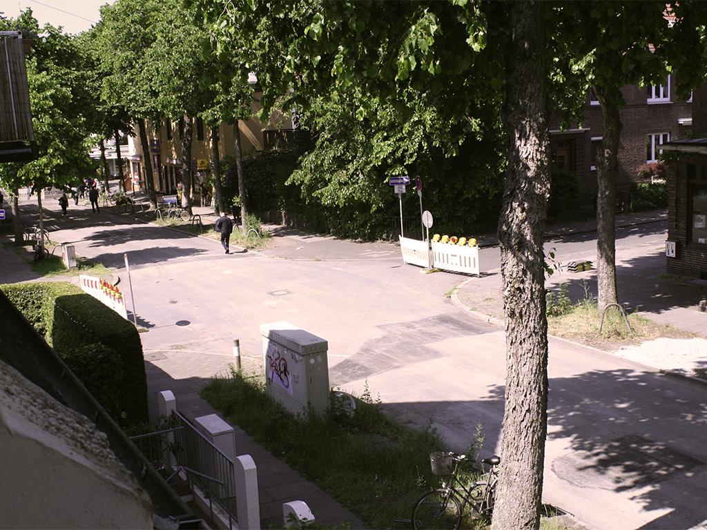 Die Magdeburger Straße: seit dem 26. Mai 2020 wieder befahrbar