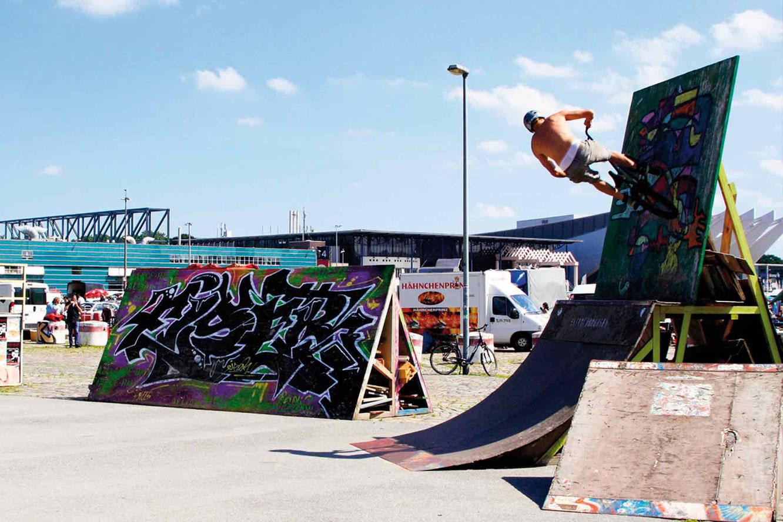 Soll der Skater-Platz auf der Bürgerweide einen neuen Namen bekommen?