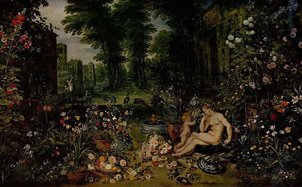 Allegorie van de geur- J. Brueghel d.O.