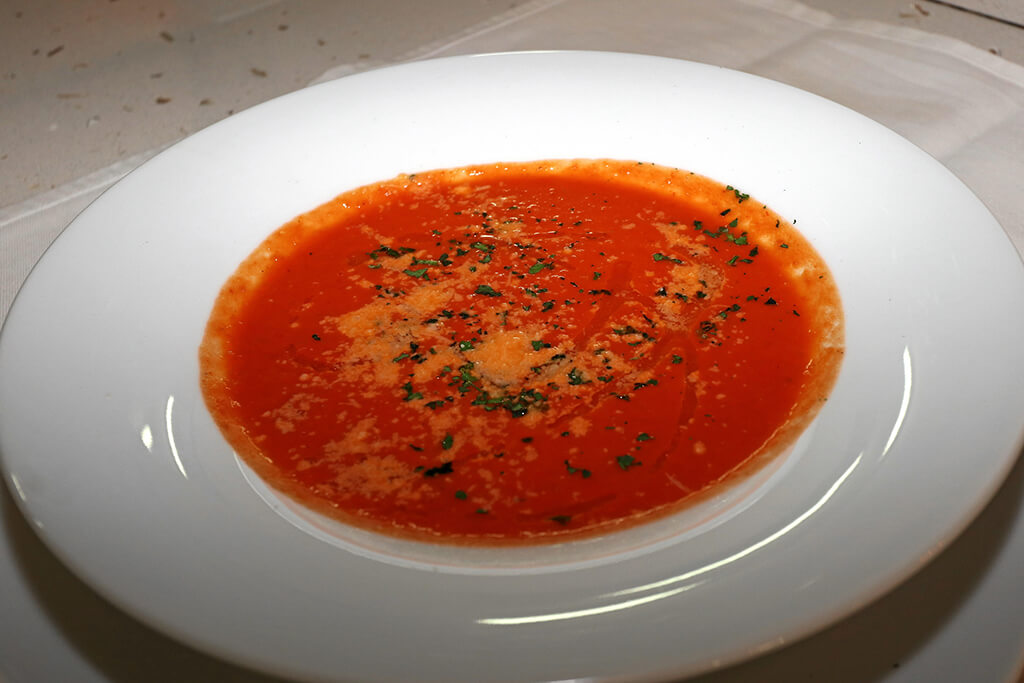 Tomatensuppe ...