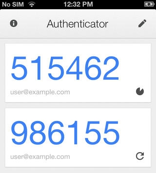Google Authenticator - 2 factor authentication