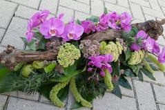 Rouwarrangement voor begrafenis