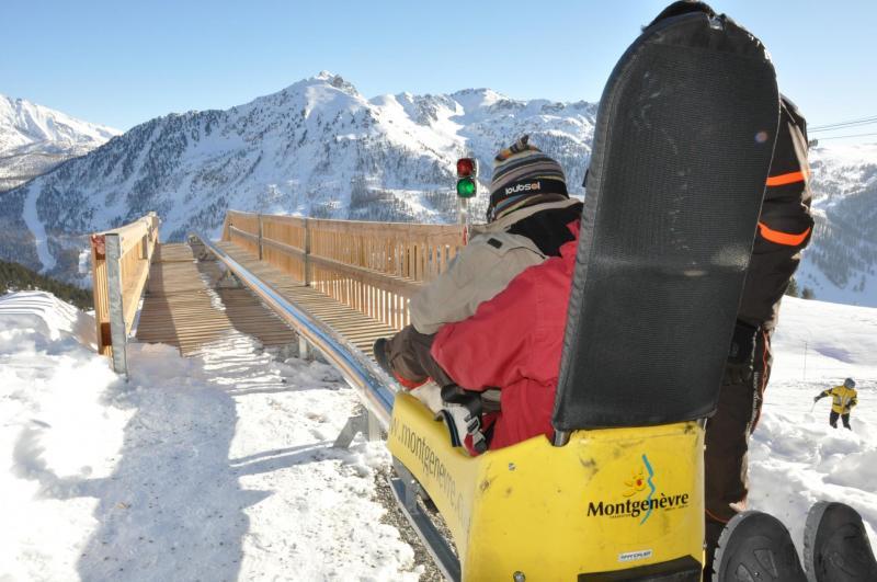 Luge Monty Express dans sa version hiver