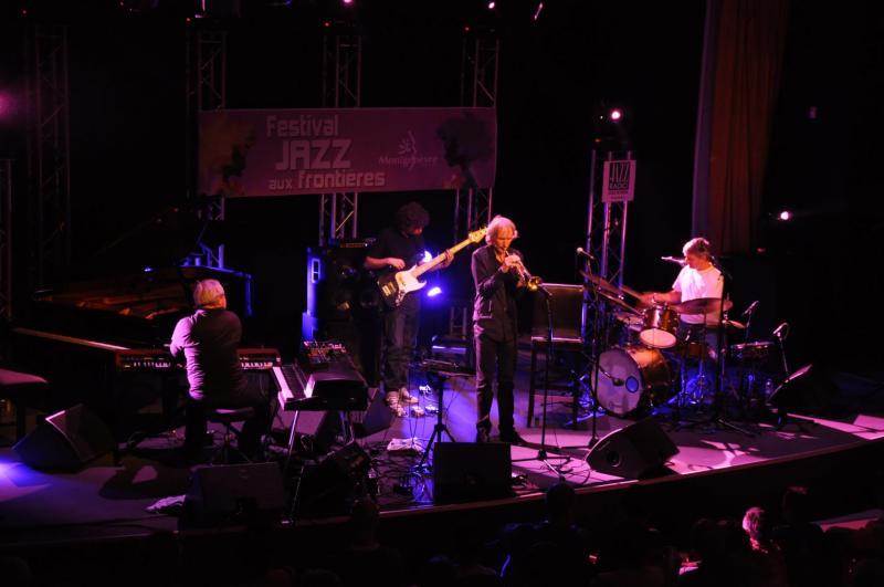 Concert du festival été Jazz aux Frontière
