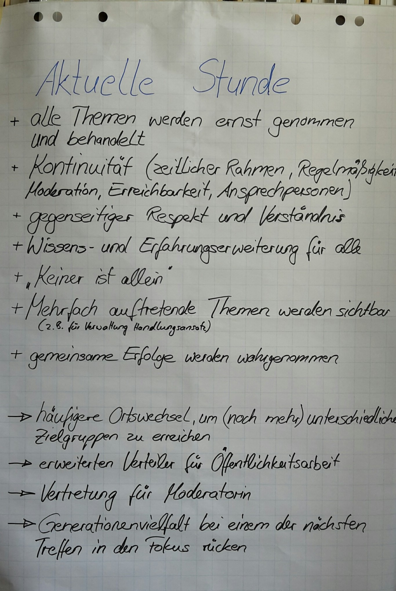 Projektpräsentationen
