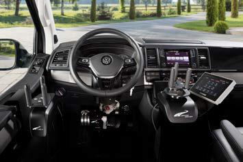 Cockpit mit individuellen Steuergeräten