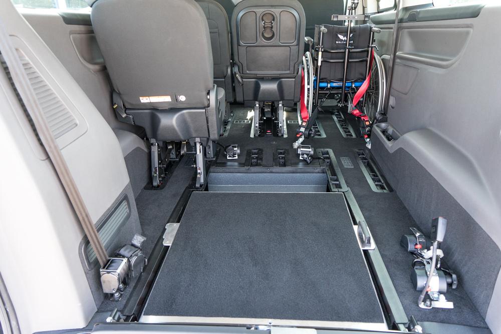 Ford Tourneo Custom Heckeinstieg Rampe Sodermanns