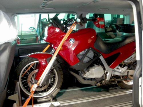 Motorradhalter Sodermanns