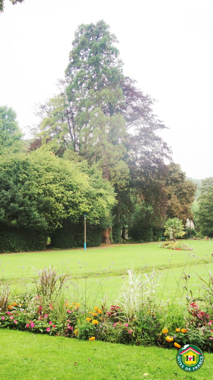 """Parc du Clos Saint Martin """"Arborétum 44 arbres répertoriés"""""""