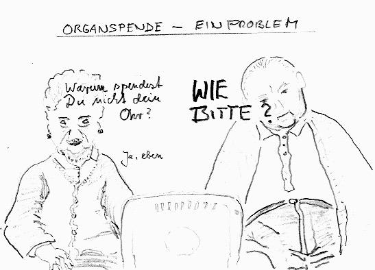 Zu wenig Organspender in Deutschland