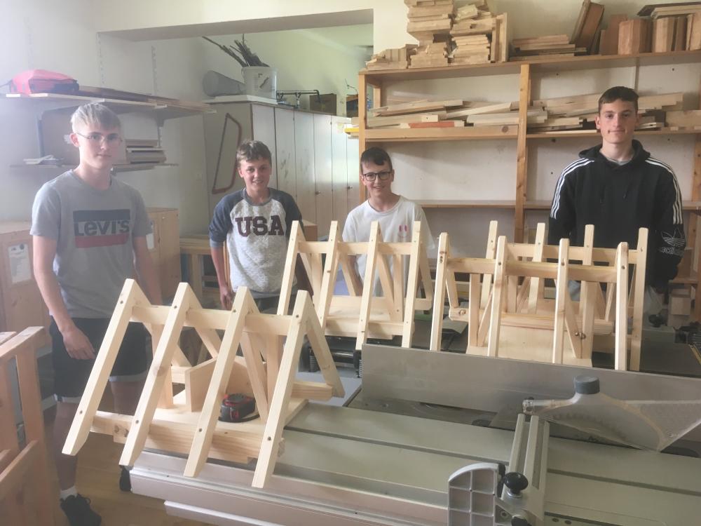 Pfettendachstühle Holz/Bau Gruppe