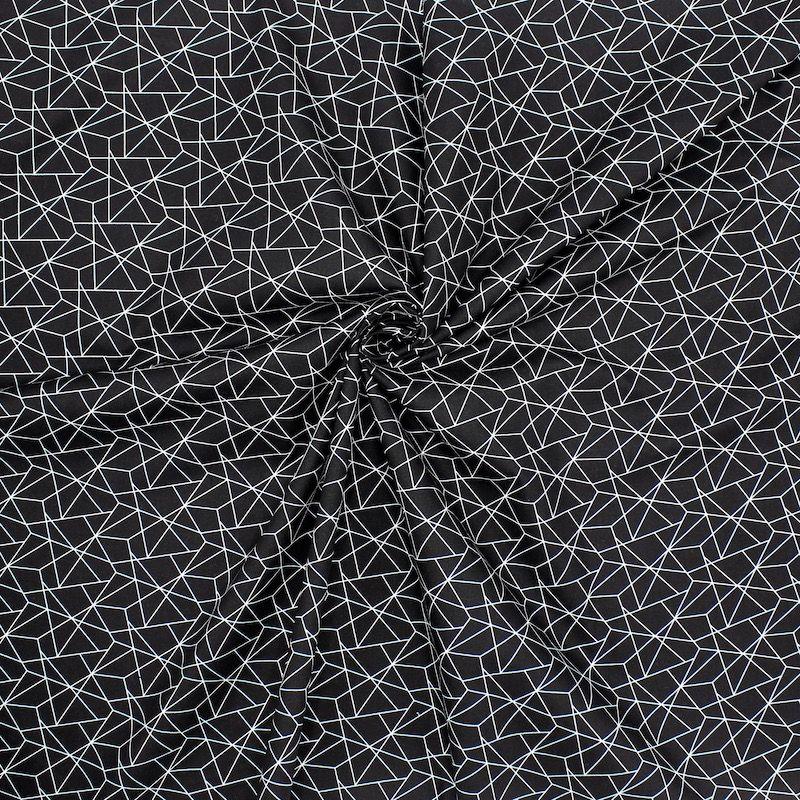 géométrique noir