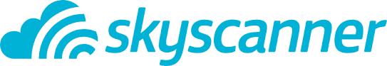 Skyscanner logo - White Wake Sailing