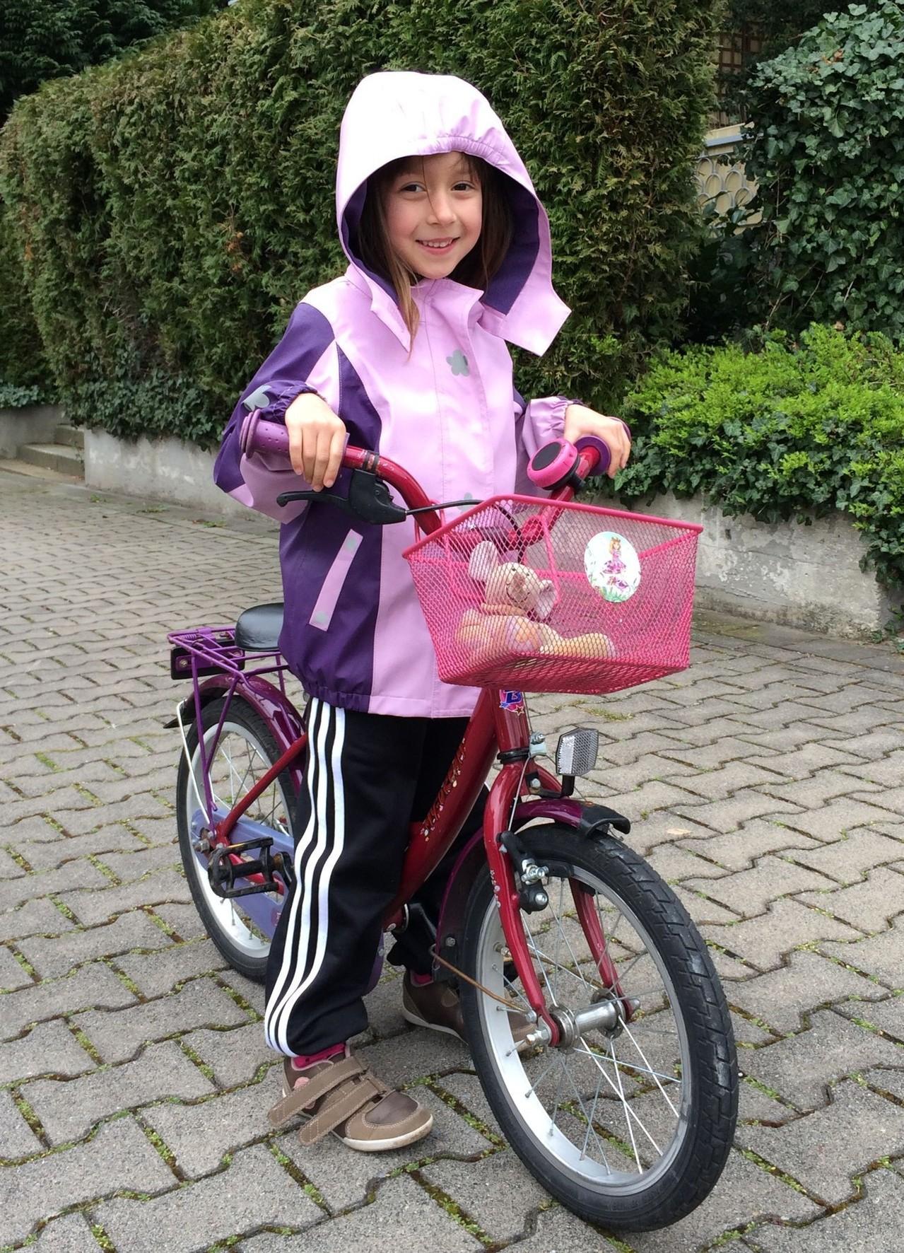 März 2014 auf dem neuen Fahrrad