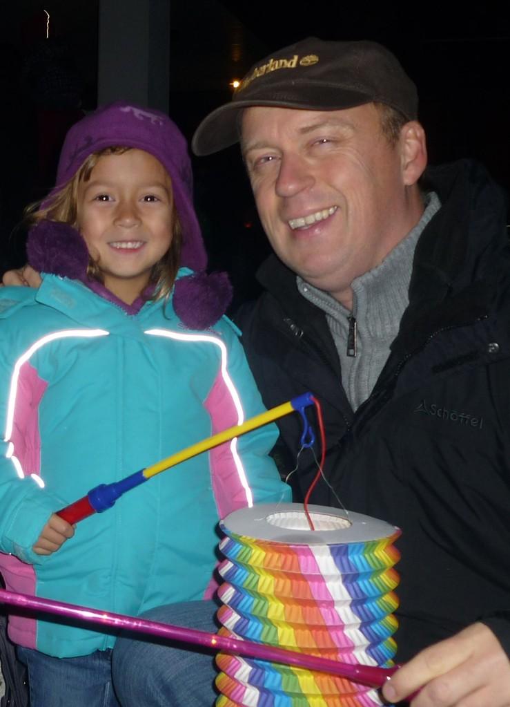 November 2012 beim Laternenfest
