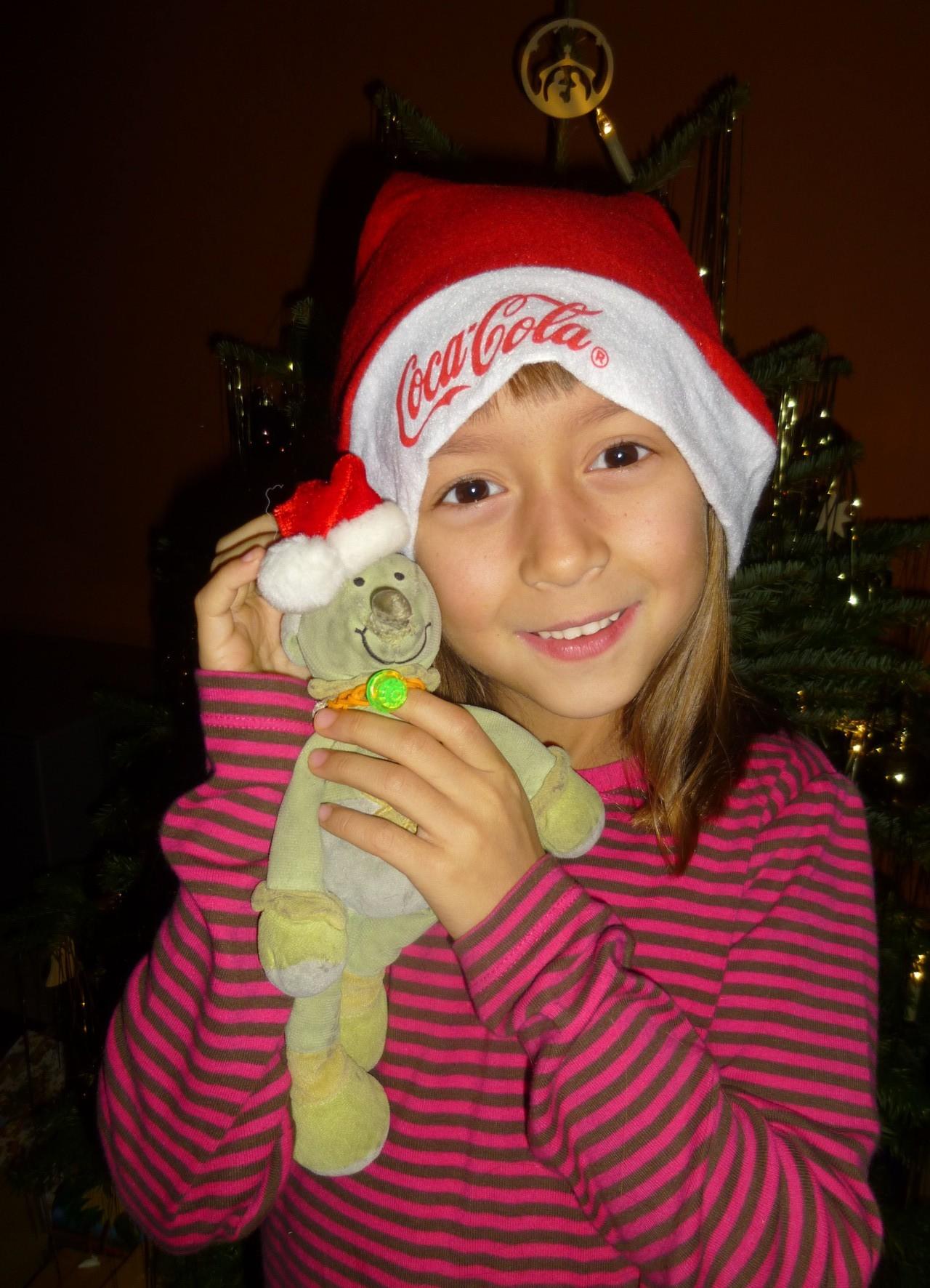 Dezember 2014 als Weihnachtsfrau