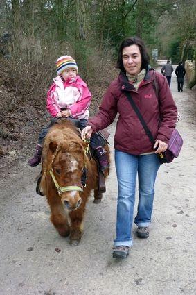 Ponyreiten als großes Highlight