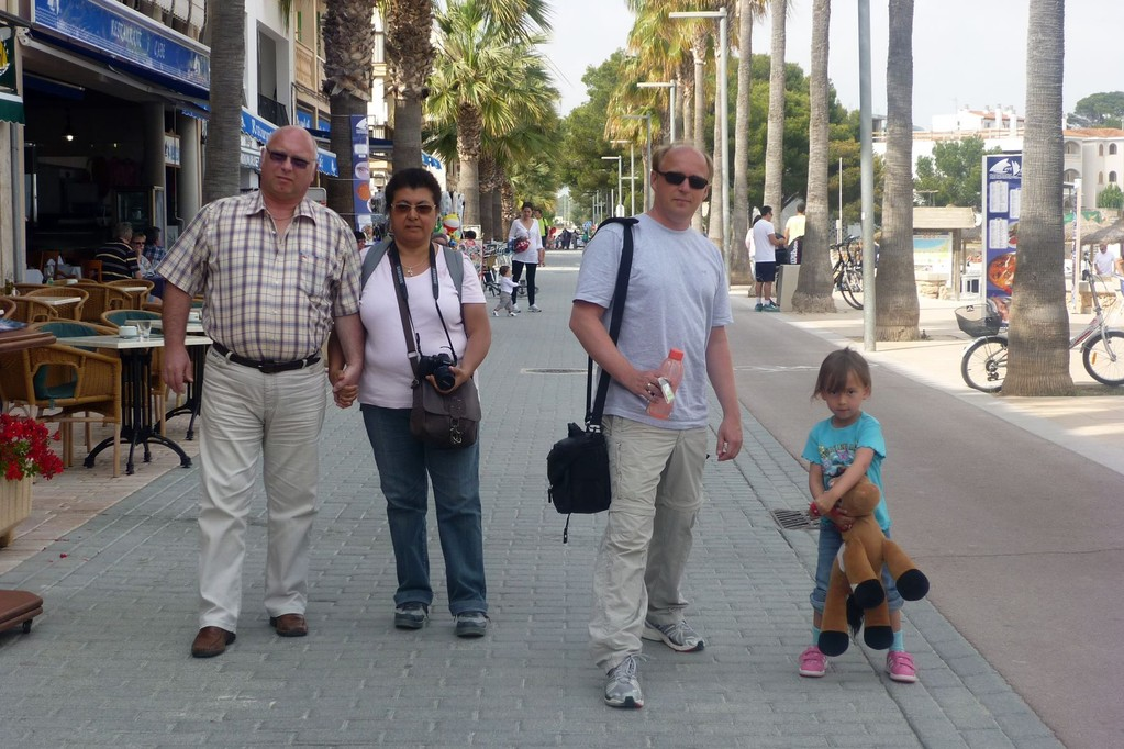 Promenieren in Colonia Sant Jordi
