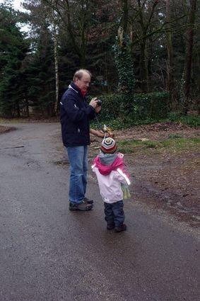 Unterwegs im Park