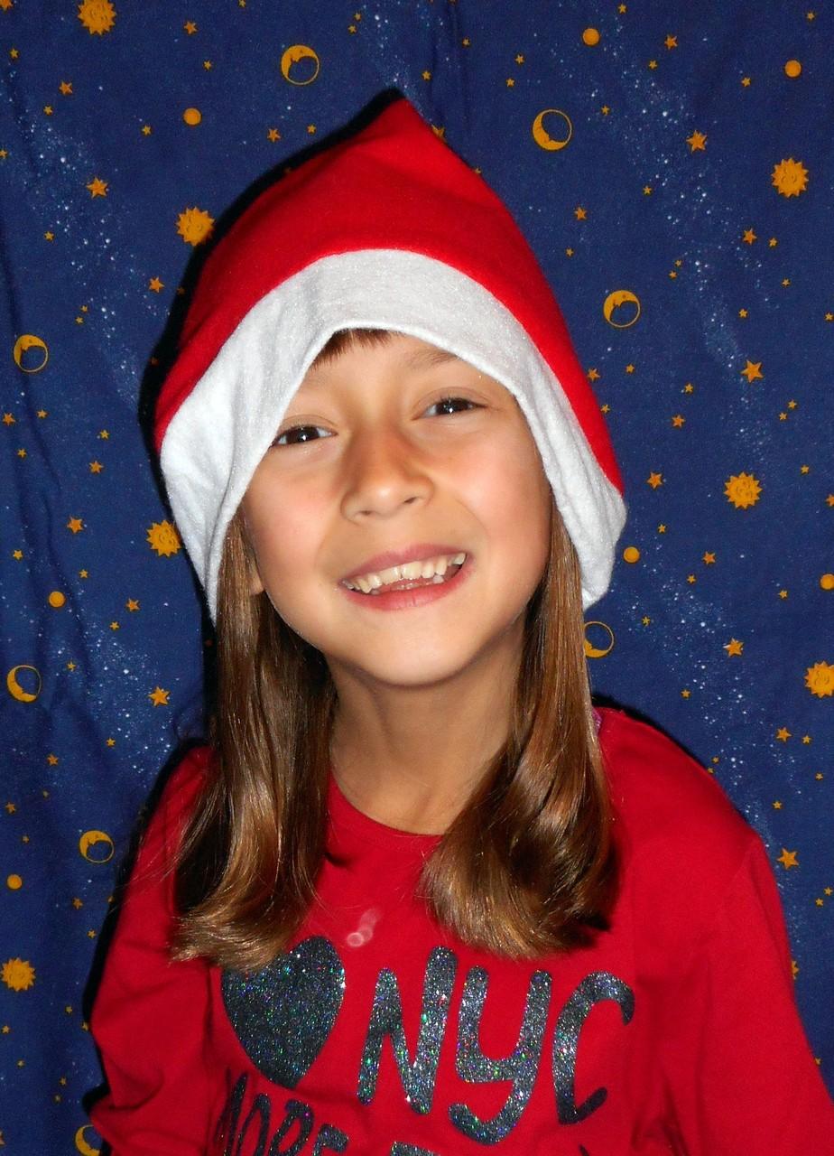 Dezember 2015 als Weihnachtsfrau