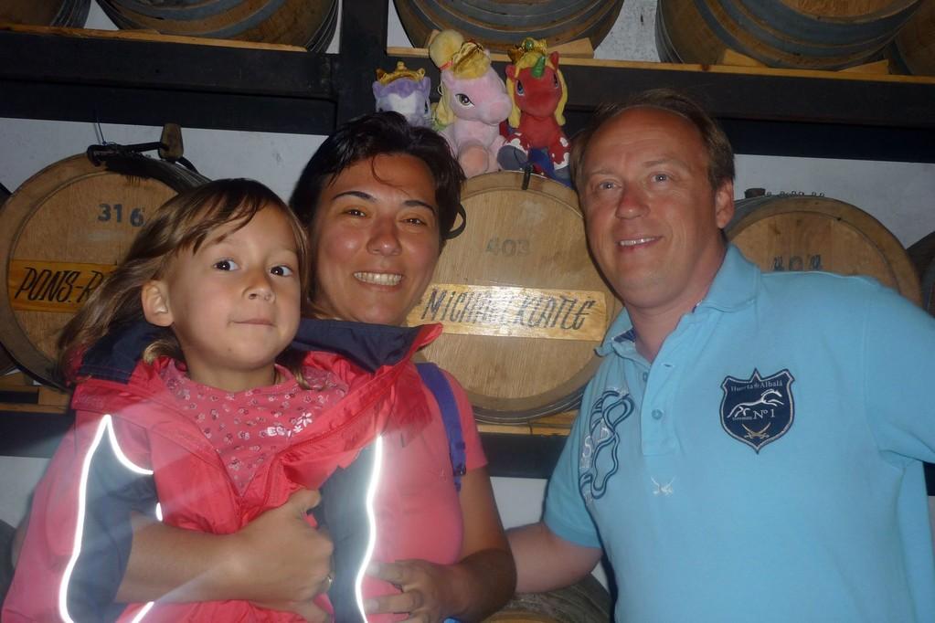 Familienfoto mit Fillys und Fässchen