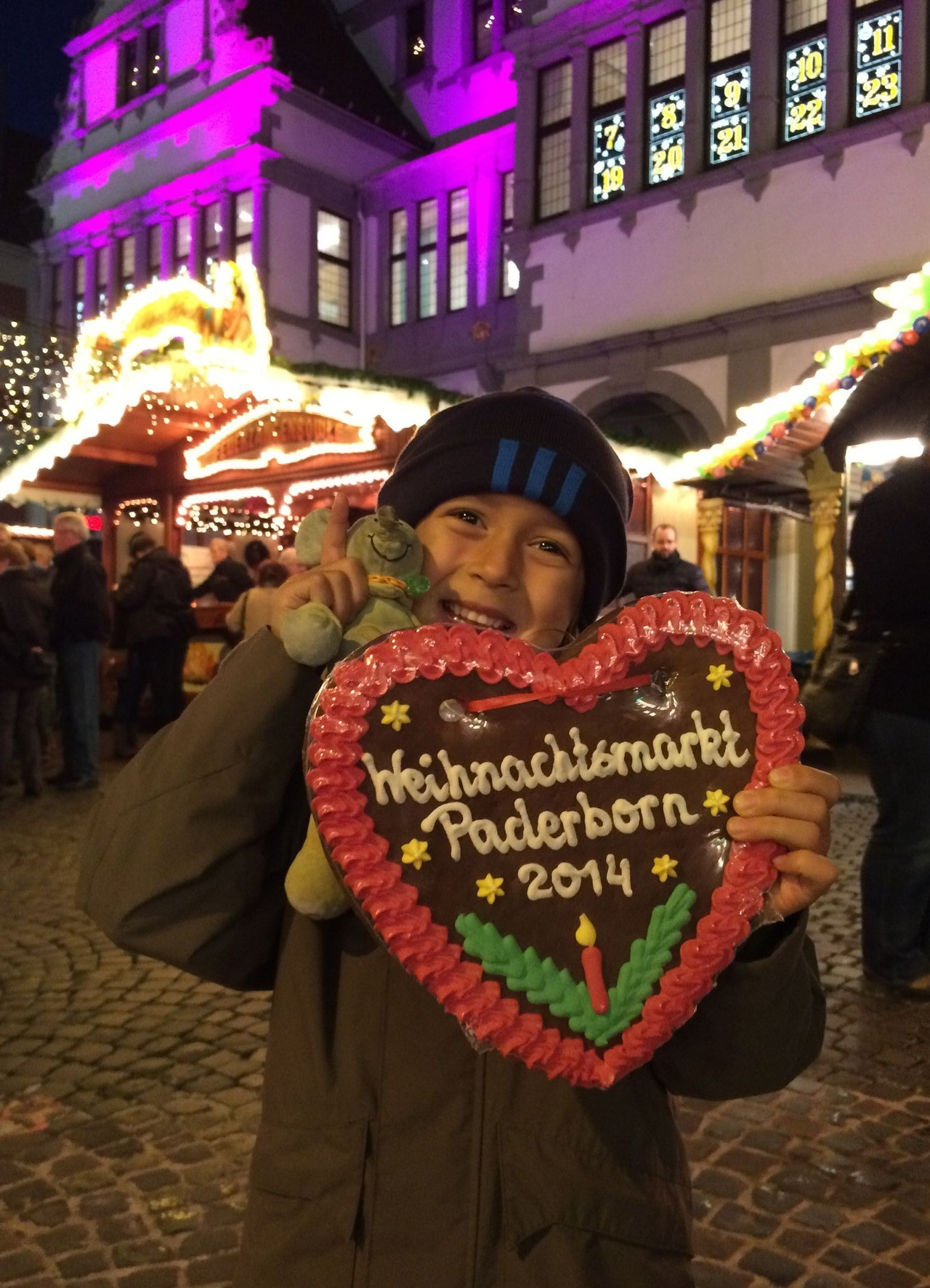 November 2014 zur Weihnachtsmarkteröffnung