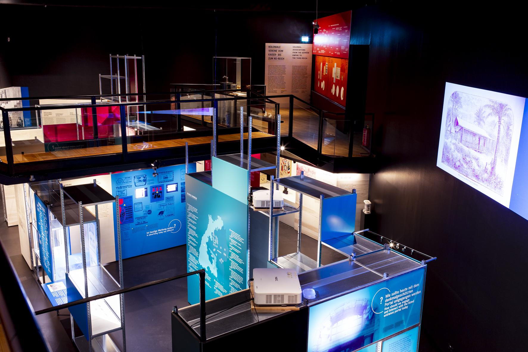 Innenausbau, Museumsbau, Objektbau von Wienss Innenausbau aus Welzheim für die Region Stuttgart, Reutlingen und weit darüber hinaus... das Lindenmuseum Stuttgart von www.wienss-innenausbau.de - Totale