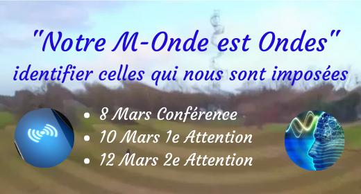 """Semaine Spéciale """"Notre M-Onde est Ondes"""" 8-12 Mars"""