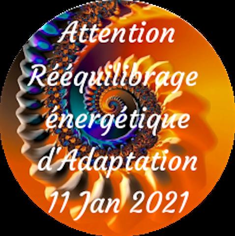 Attention Rééquilibrage énergétique d'Adaptat°
