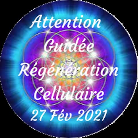 """2e Attention guidée """"Régénération Cellulaire"""" Samedi, 27 février"""