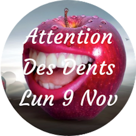 """Soin/Attention """"Les dents"""""""