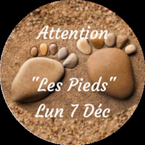 """Attention """"Les Pieds"""""""