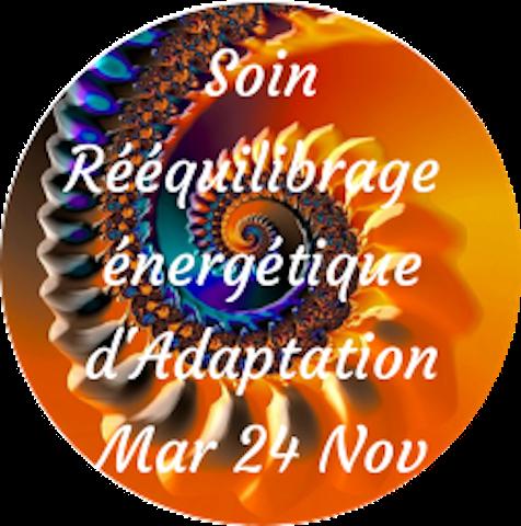 Soin Rééquilibrage Energétique d'Adaptation (Période Rein)