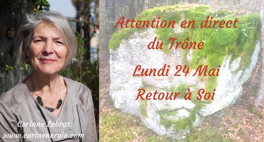"Attention ""En Direct du Trône"" Lundi 24 Mai"