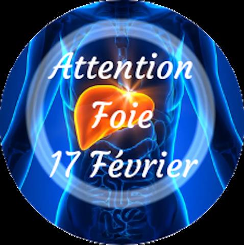 """Attention """"Foie"""" Mercredi, 17 février"""