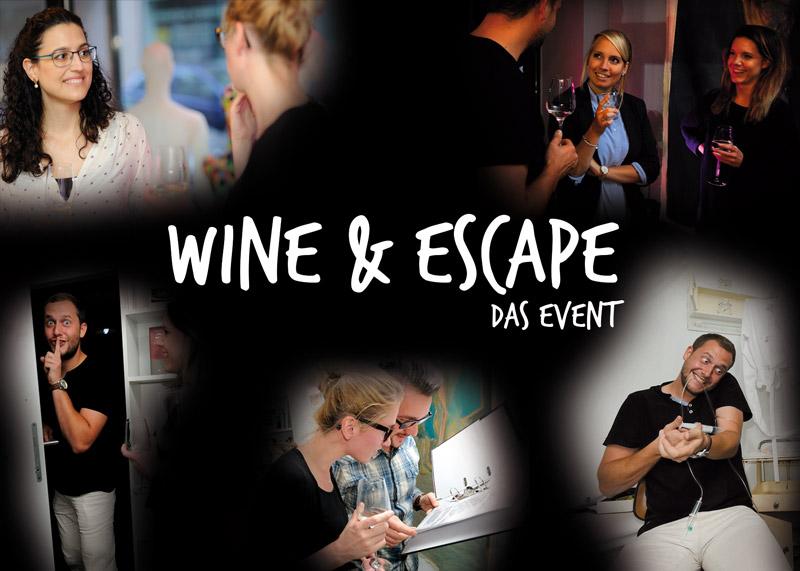 Wine & Escape - Das neue Teamevent
